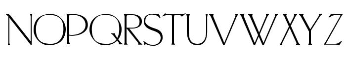 PortlandRoman Font LOWERCASE