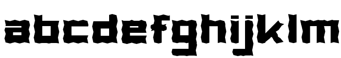 PostageStamp Font LOWERCASE