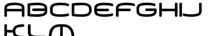 PP Equaliser Black Font UPPERCASE