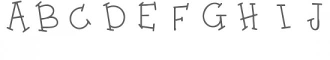 ppbn whimsy font Font UPPERCASE