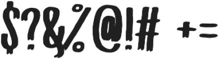 PQRS-Bold otf (700) Font OTHER CHARS