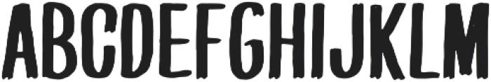 PQRS-Bold otf (700) Font LOWERCASE