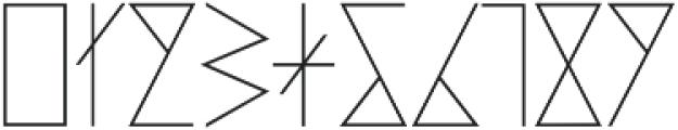 PRIMITIVE otf (400) Font OTHER CHARS