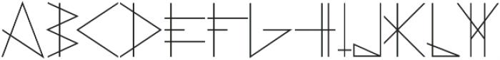 PRIMITIVE otf (400) Font LOWERCASE
