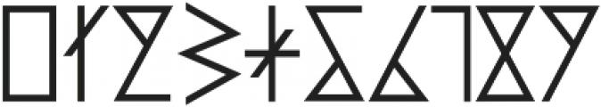 PRIMITIVE otf (700) Font OTHER CHARS