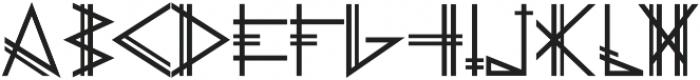 PRIMITIVE otf (700) Font UPPERCASE