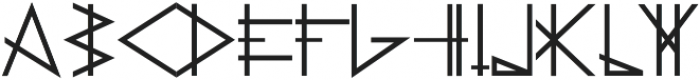 PRIMITIVE otf (700) Font LOWERCASE