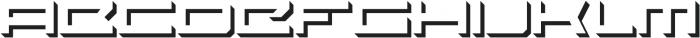PROSPECTIVE Extended Shadow ttf (400) Font UPPERCASE