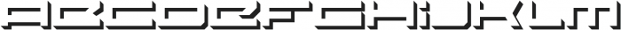 PROSPECTIVE Extended Shadow ttf (400) Font LOWERCASE