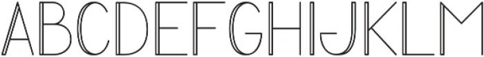 PROTECT Regular otf (400) Font UPPERCASE