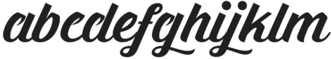 Prada otf (400) Font LOWERCASE