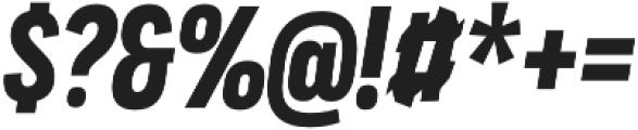 Praktika Bold Cond Italic otf (700) Font OTHER CHARS