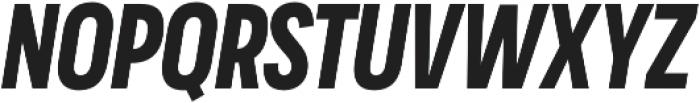 Praktika Bold Cond Italic otf (700) Font UPPERCASE