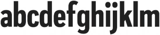 Praktika Bold Condensed otf (700) Font LOWERCASE