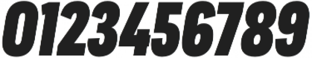 Praktika ExtraBold Cond Italic otf (700) Font OTHER CHARS