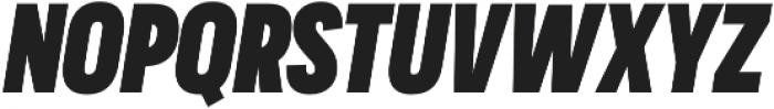 Praktika ExtraBold Cond Italic otf (700) Font UPPERCASE