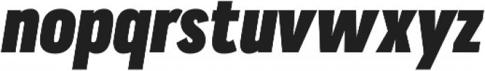 Praktika ExtraBold Cond Italic otf (700) Font LOWERCASE