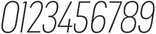 Praktika Light Cond Italic otf (300) Font OTHER CHARS