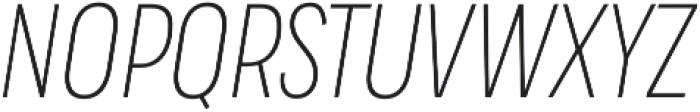 Praktika Light Cond Italic otf (300) Font UPPERCASE