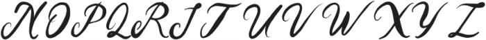 Precious Thing Regular otf (100) Font UPPERCASE