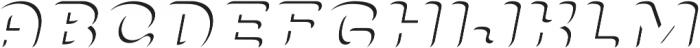 PreciousITALIC Precious otf (400) Font UPPERCASE