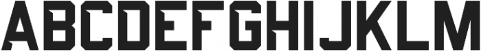 Predator 0316  - Sans Cut ttf (400) Font UPPERCASE