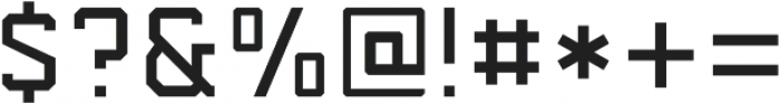 Predator 0316  - Sans Light ttf (300) Font OTHER CHARS
