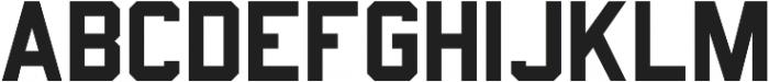 Predator 0316  - Sans ttf (400) Font UPPERCASE
