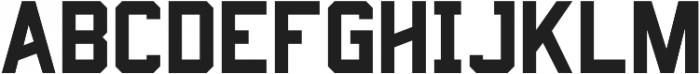 Predator 0316  - Sans ttf (400) Font LOWERCASE