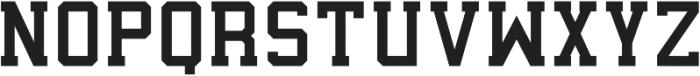 Predator 0316 - Slab SemiLight ttf (300) Font LOWERCASE