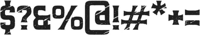Predators Cuspid otf (400) Font OTHER CHARS