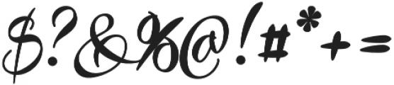 Preside Bold otf (700) Font OTHER CHARS