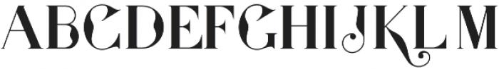 Presidente serif otf (400) Font UPPERCASE
