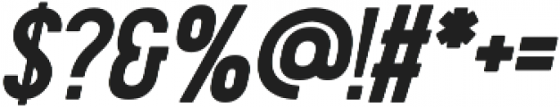 Presson Clean Oblique otf (400) Font OTHER CHARS