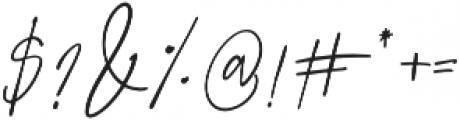 Prestige Signature Script otf (400) Font OTHER CHARS