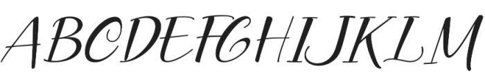 Prestige otf (400) Font UPPERCASE