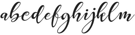 Prestige otf (400) Font LOWERCASE