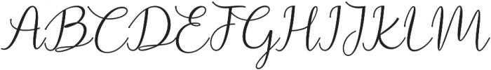 Prestiquen Bold Regular otf (700) Font UPPERCASE
