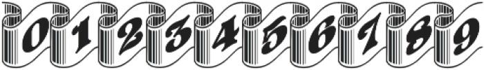 Pretoria Gross Ribbon ttf (400) Font OTHER CHARS