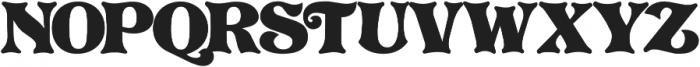 PretoriaGross Regular ttf (400) Font UPPERCASE