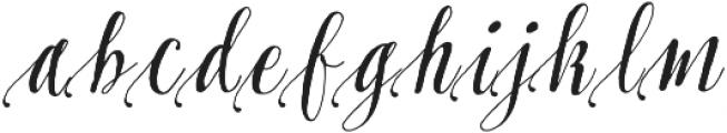 Pretty Script Alt 1 ttf (400) Font LOWERCASE