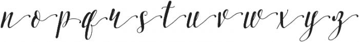 Pretty Script Alt 2 ttf (400) Font LOWERCASE