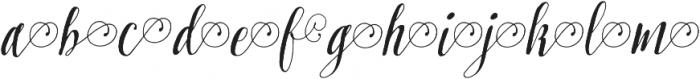Pretty Script Alt 3 ttf (400) Font LOWERCASE