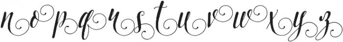 Pretty Script Alt 4 ttf (400) Font LOWERCASE