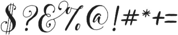 Pretty Script Alt 6 ttf (400) Font OTHER CHARS