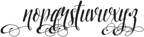 Pretty Script Alt 8 ttf (400) Font LOWERCASE