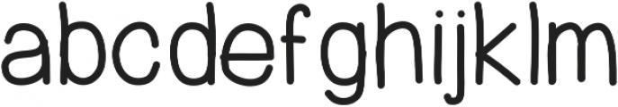 PrevekDemibold ttf (600) Font LOWERCASE