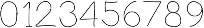 PrevekLight ttf (300) Font OTHER CHARS