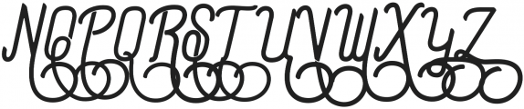 Preview Swash ttf (400) Font UPPERCASE