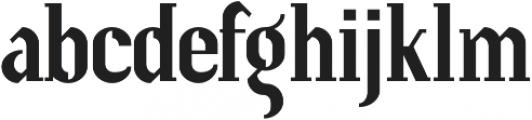 Prevya Display Shadow otf (400) Font LOWERCASE